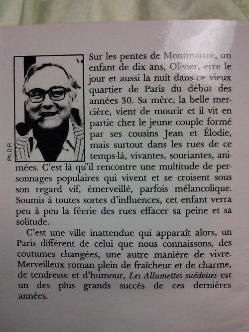 Robert Sabatier-Allumettes Suedoises
