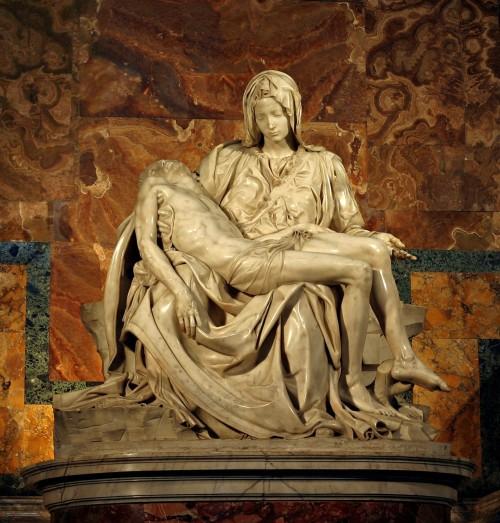 Michelangelo_La Pieta: Basilica San Pietro - Vatican