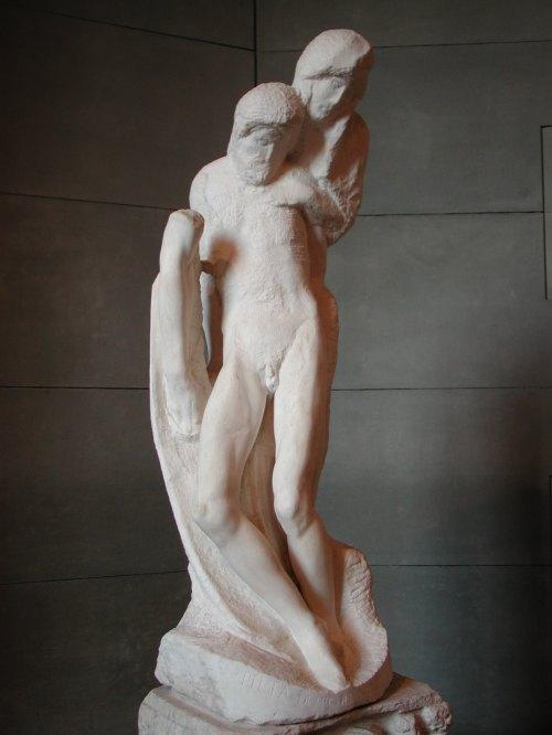 La Pieta:Michelangelo_rondanini