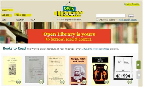 The Library is Open @ Open Library