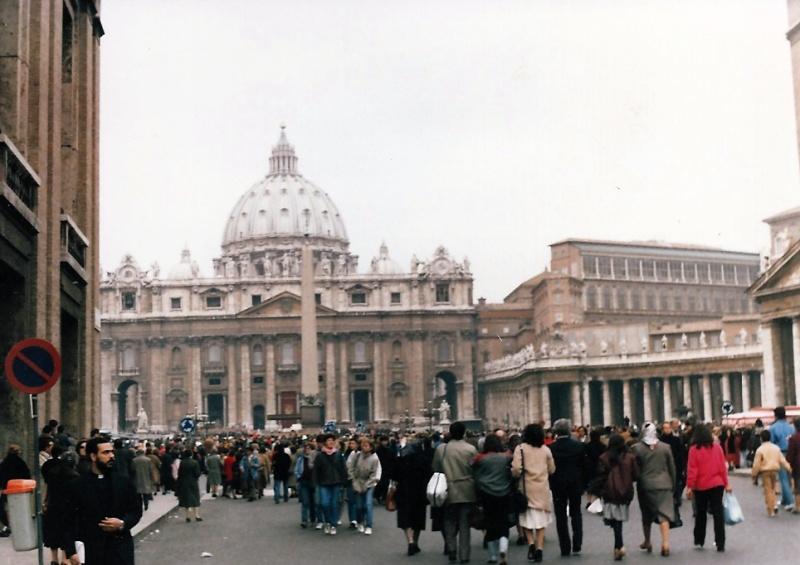 Piazza San Pietro_ Rome February 1984 - Via della Conciliazione