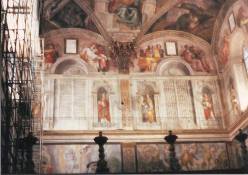Basilica San Pietro, Vatican- Capella Sistina February 1984
