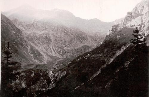 """""""As the Sun Rises in Caldarea Negoiului, Muntii Fagaras, 1981"""""""