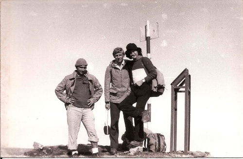On Moldoveanu Peak (Muntii Fagaras) 1997