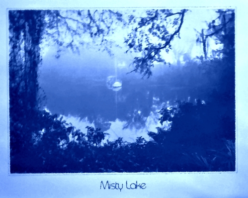 Mood Indigo - Misty Lake digital ingigo moodified