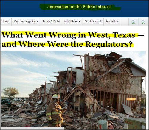 ProPublica_ What Went Wrong in West, Texas- and Where Were the Regulators?