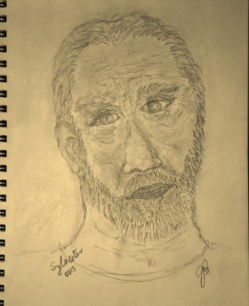 SYLVERTER 2013 (Pencil Sketch) 11 X 8