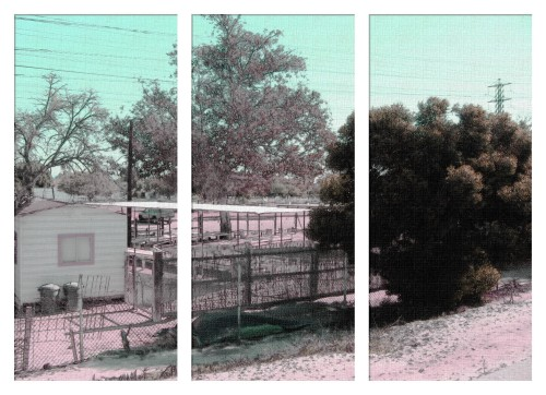 Sketcher - The Petting Farm Dream Dream Tryptic (my Photo Collection)
