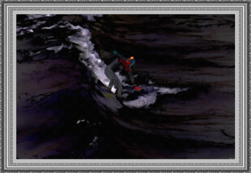 Dream Surfing_-_Oil Sketch (My Art Collection)