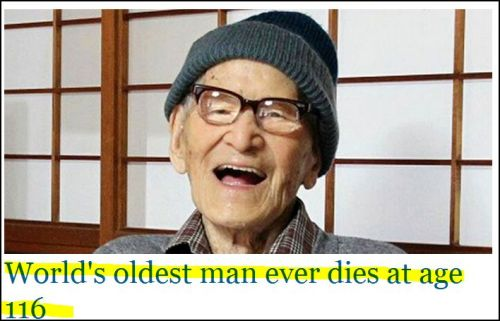 Jiroemon Kimura: World's oldest man ever dies at age 116