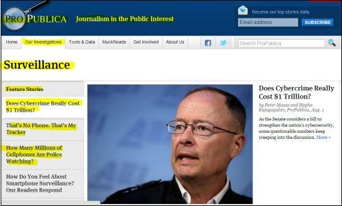 ProPublica Surveillance