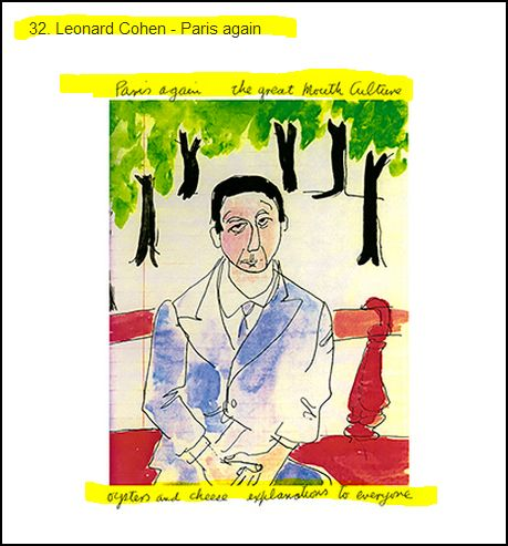 Leonard Cohen - Paris again (Warning: some pictures may portray things the way they are: Discretion is advisable!