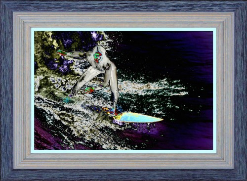 'Lava Surf by Moonlight' (My Art Collection)
