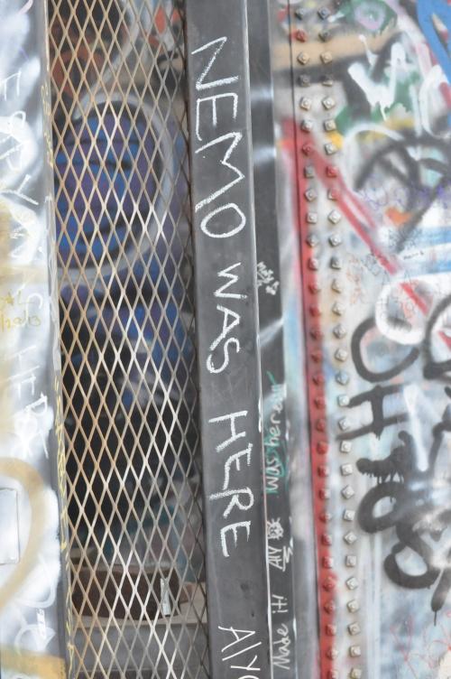 """Water Tower Art"""" """"NEMO WAS HERE!"""""""