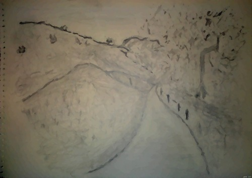 Turnbull Cyn. Trail - Aquarelle (my Art Collection)