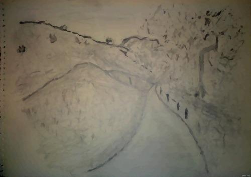 Turnbull Cyn. Trail - Aquarelle (my Art Collection)