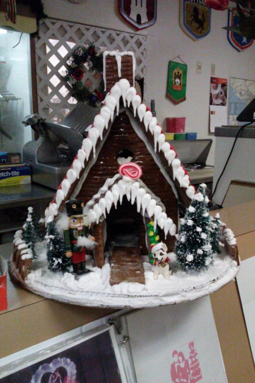 Gingerbread House: Streit Bakery in Downey