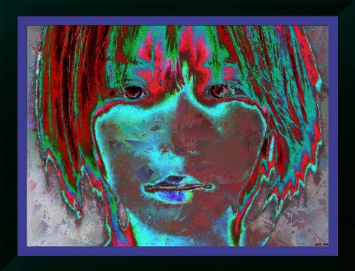 'Ultimate Masquerade' - FotoSketcher Stylized emergence 2