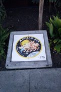 """Defunct- the aeronautics and space Rockwell-and as Phenix the new trend of the national service society: 99 cents stores! The rest of the photos tell the story, and the the """"headstones"""" bear witness!"""