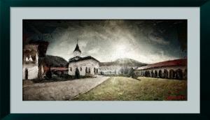 FotoSketcher - manastirea sambata de sus - emergence 2