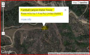TURNBULL CANYON WATER TOWER (CLICK TO ACCESS VIDEO)