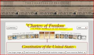 Widget: Constitution of the United States - access here