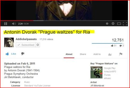 make music part of your life series -_-Antonin Dvorak -_ -Prague waltzes