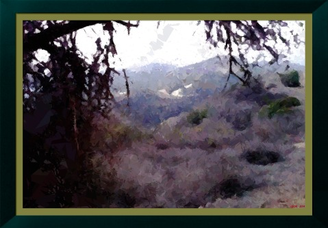 along the trail by George-B (oil-emergence-2)_FotoSketcher
