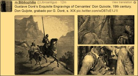 Gustave Dore engraving of Don Quixote19th Century