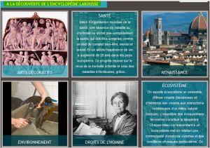 A la découverte de l'encyclopédie Larousse
