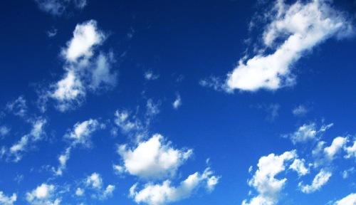 cotton balls sky