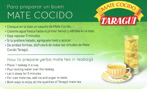 Mate Cocido- Tarragui