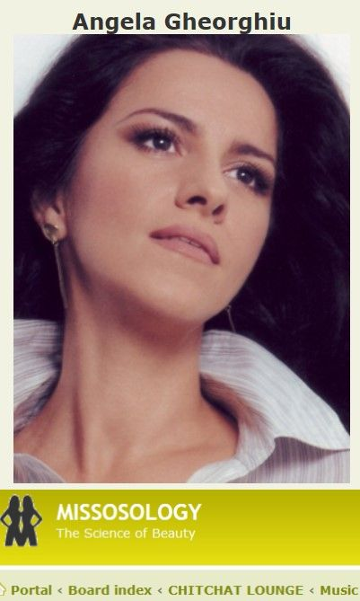 Godesses of Music - ANGELA GHEORGHIU  (ACCESS THE ARTICLE WHEN CLICKING HERE)