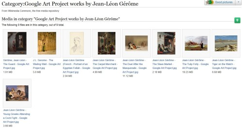 Google Art Project works by Jean-Léon Gérôme