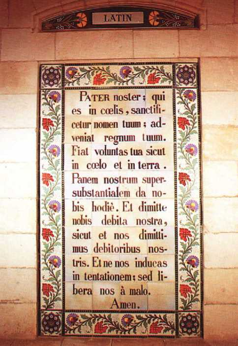 Pater Noster- Latin-l