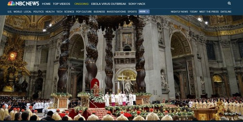 Vatican-Christmas Mass - 2014