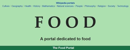 Wikipedia Food Portal Bon Apetit