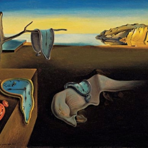 the persistance of memory-Salvador Dali