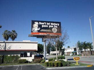 Americana: second McDonalds fast food stand: Opened in Downey, CA (Lakewood/Florence_1953)-3