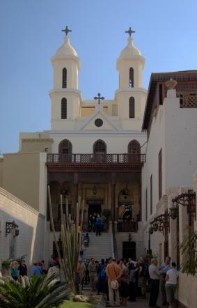 Kairo_Hanging_Church_BW_1