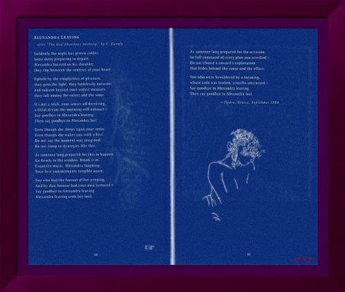 Leonard Cohen - Alexandra Leaving -The Book of longing_FotoSketcher_FotoSketcher