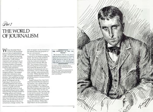 The World of Journalism - William Randolph Hearst