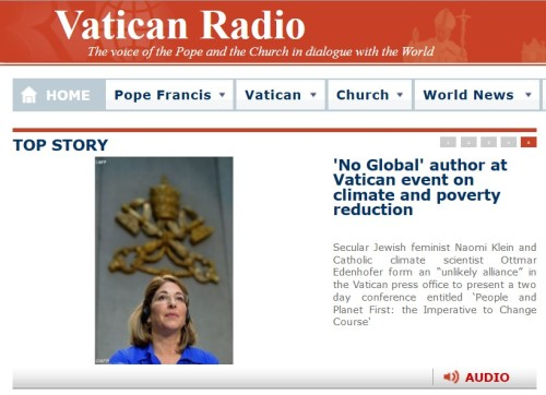 No Global author at Vatican Event on Climate and poverty Reduction (access the story here)