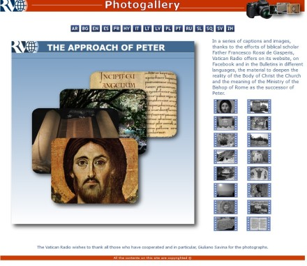 RADIO VATICANA_ THE APPROACH OF PETER