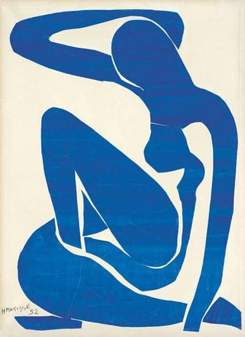 Henri Matisse, Blue Nude, 1952
