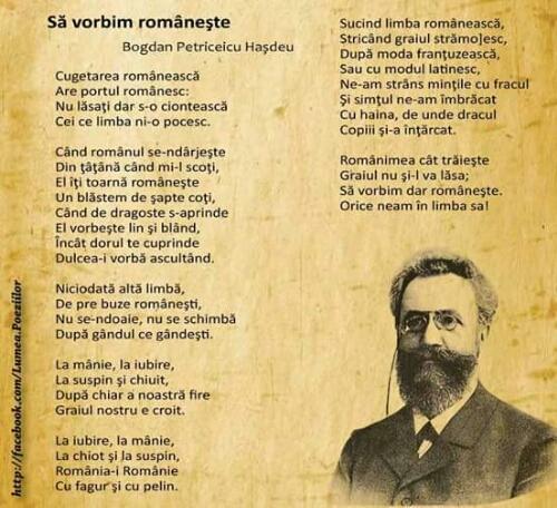 Să vorbim românește - Bogdan Petriceicu Hașdeu