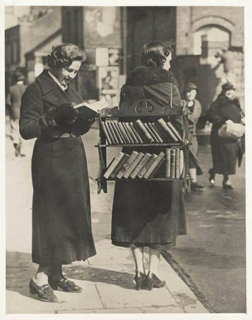 The Walking Library - London, England