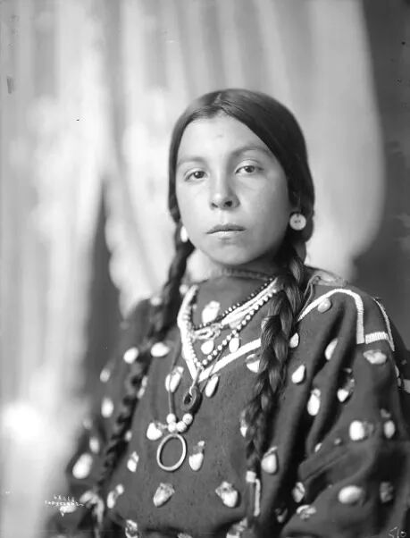 Rose Bompard Bird. Crow. Early 1900s. Photo by Richard Throssel. Source - University of Wyoming, American Heritage Center.