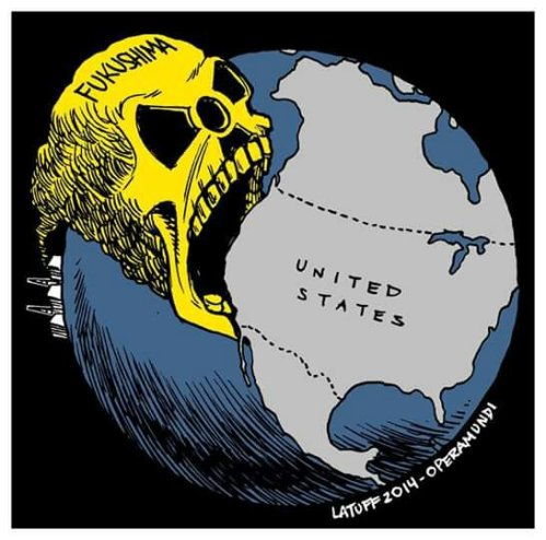 Fukushima radiation has been lingering in the Pacific Ocean...from 2014