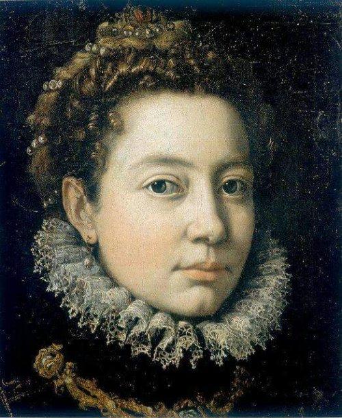 Sofonisba Anguissola (1532 – 1625) - Self portrait 1560